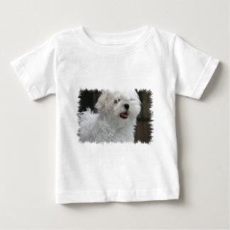 White Maltese Puppy Baby T-Shirt