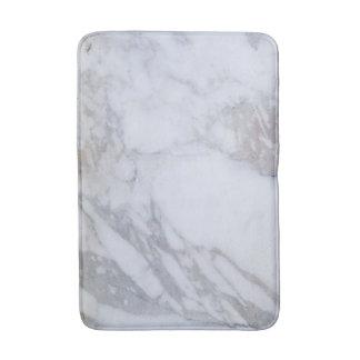 White Marble Bath Mat Bath Mats