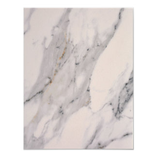 White Marble Card