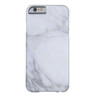 White Marble Barely There iPhone 6 Case