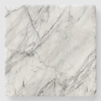 White marble coaster