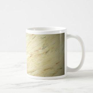 White Marble Faux Finish Coffee Mug