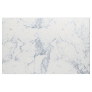 White Marble Look Fabric