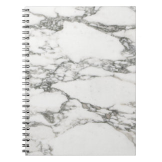 White Marble Notebooks
