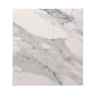 White Marble Notepads