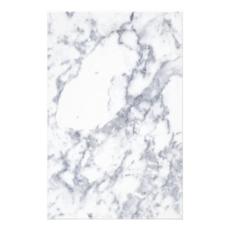 White Marble Stationery