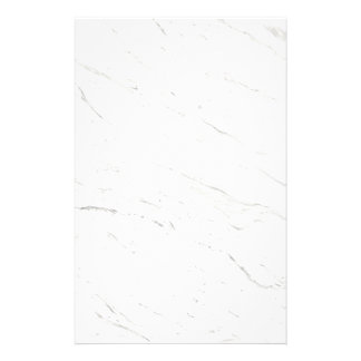 White Marble Stationery Paper
