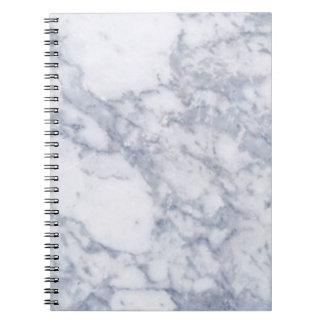 White Marble Stone Grain/Texture Notebooks