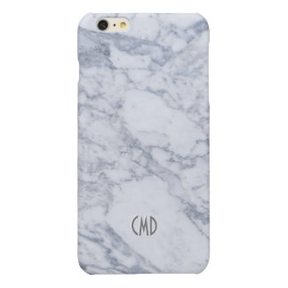 White Marble Stone Look iPhone 6 Plus Case