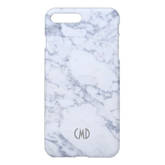 White Marble Stone Look iPhone 8 Plus/7 Plus Case