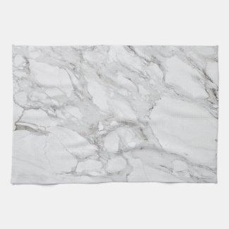 white marble tea towel