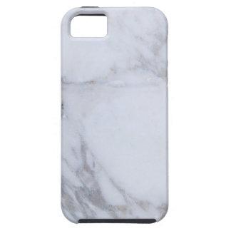 White Marble Tough iPhone 5 Case