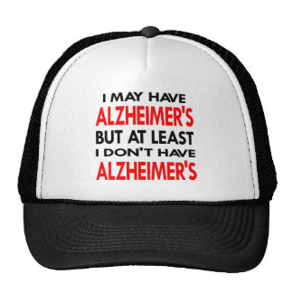 White May Have Alzheimers Cap
