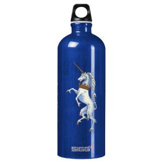 White Medieval Unicorn SIGG Traveller 1.0L Water Bottle