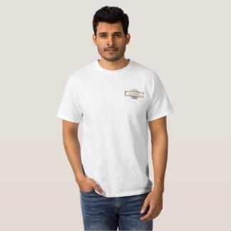 White men's t-shirt Passport logo