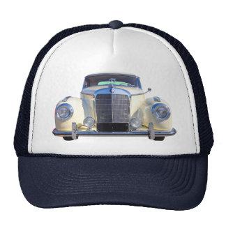 White Mercedes Benz 300 Luxury Car Hat