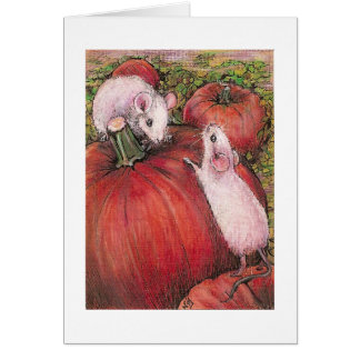 White Mice Card