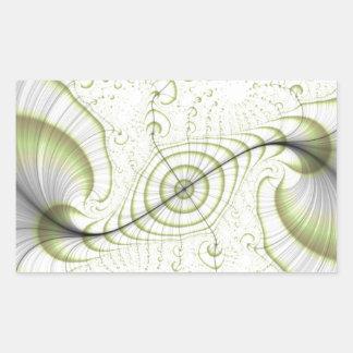 White minimalist ornate design gifts accessories stickers
