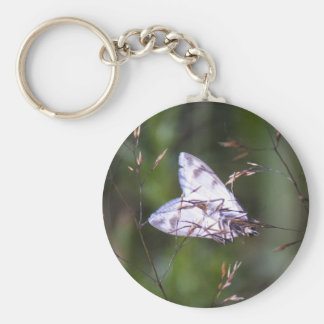 white moth keychains