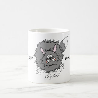 White Mug Cat
