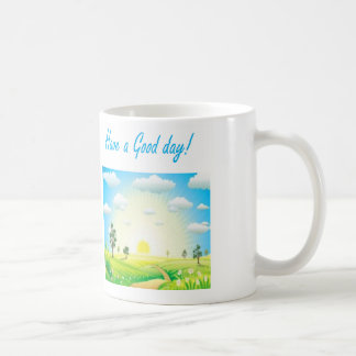 White mug that would make better start in a day