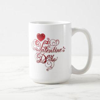 White Mug-Valentines Basic White Mug