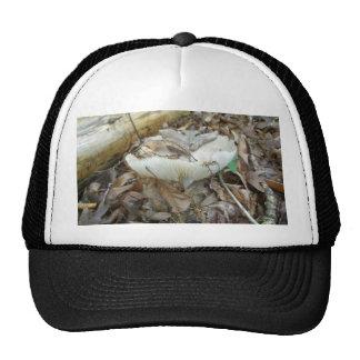 White Mushroom Coordinating Items Cap
