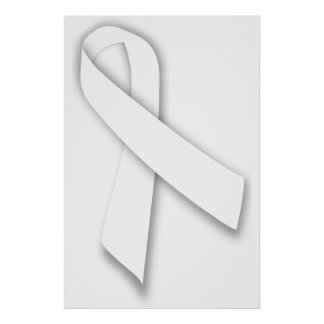 White National Day of Remembrance Ribbon Posters