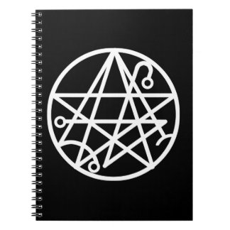 White Necronomicon Seal Notebook