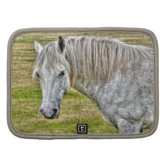 White New Forest Pony Wild Horse Planners