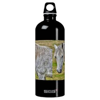 White New Forest Pony Wild Horse SIGG Traveller 1.0L Water Bottle