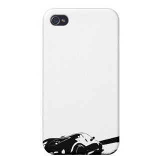 White Nissan 350z Covers For iPhone 4