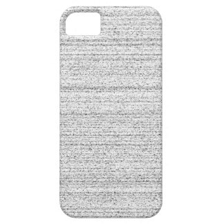 White Noise. Black and White Snowy Grain. iPhone 5 Case