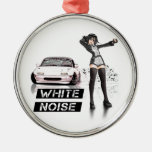 White Noise MX5 Miata Ornament