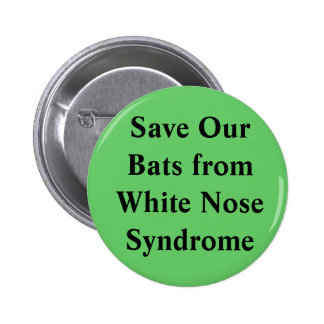 White Nose Syndrome Button without photo
