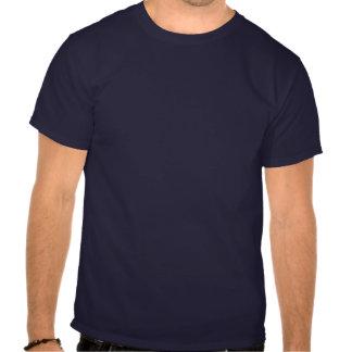 White Nuthatch Bird Facing Down Tee Shirts