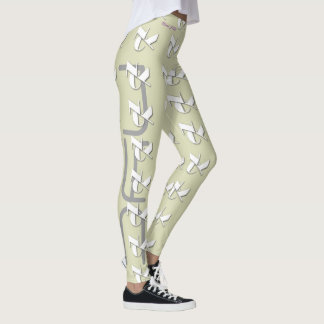 WHITE NYC LOGO LEGGINGS HAVIC ACD