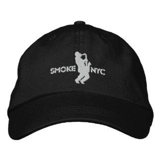 White on Black BB Embroidered Baseball Caps
