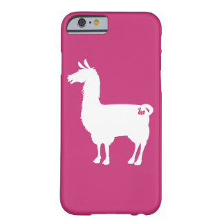 White On Colour Llama Case