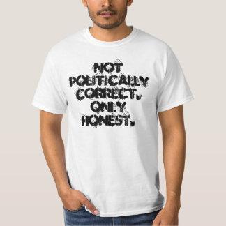 White Only Honest Shirt / With Full Logo