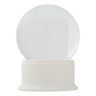 White Onyx Snow Globe