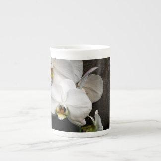 White Orchid Bone China Mug