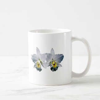 White Orchid Hawaiian Wedding Song Mugs