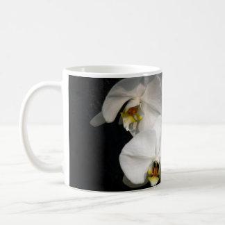 White Orchid Basic White Mug
