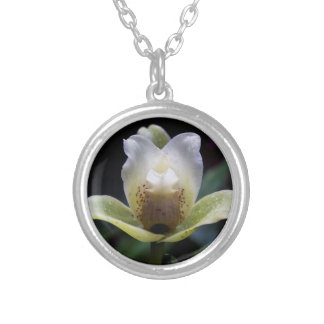White Orchid Necklace
