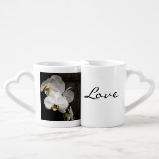White Orchid Lovers Mug