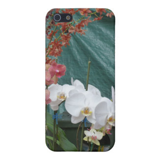 White Orchids Case For iPhone 5/5S