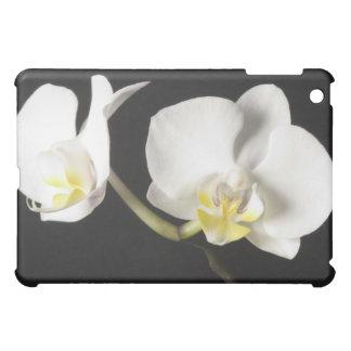 White Orchids iPad Mini Cover