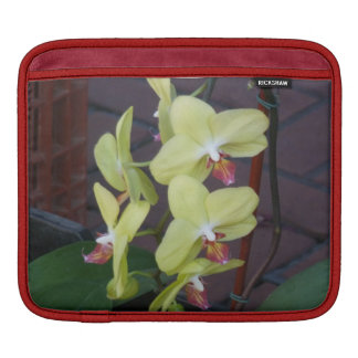 White Orchids iPad Sleeve