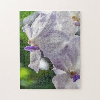White orchids photo puzzle